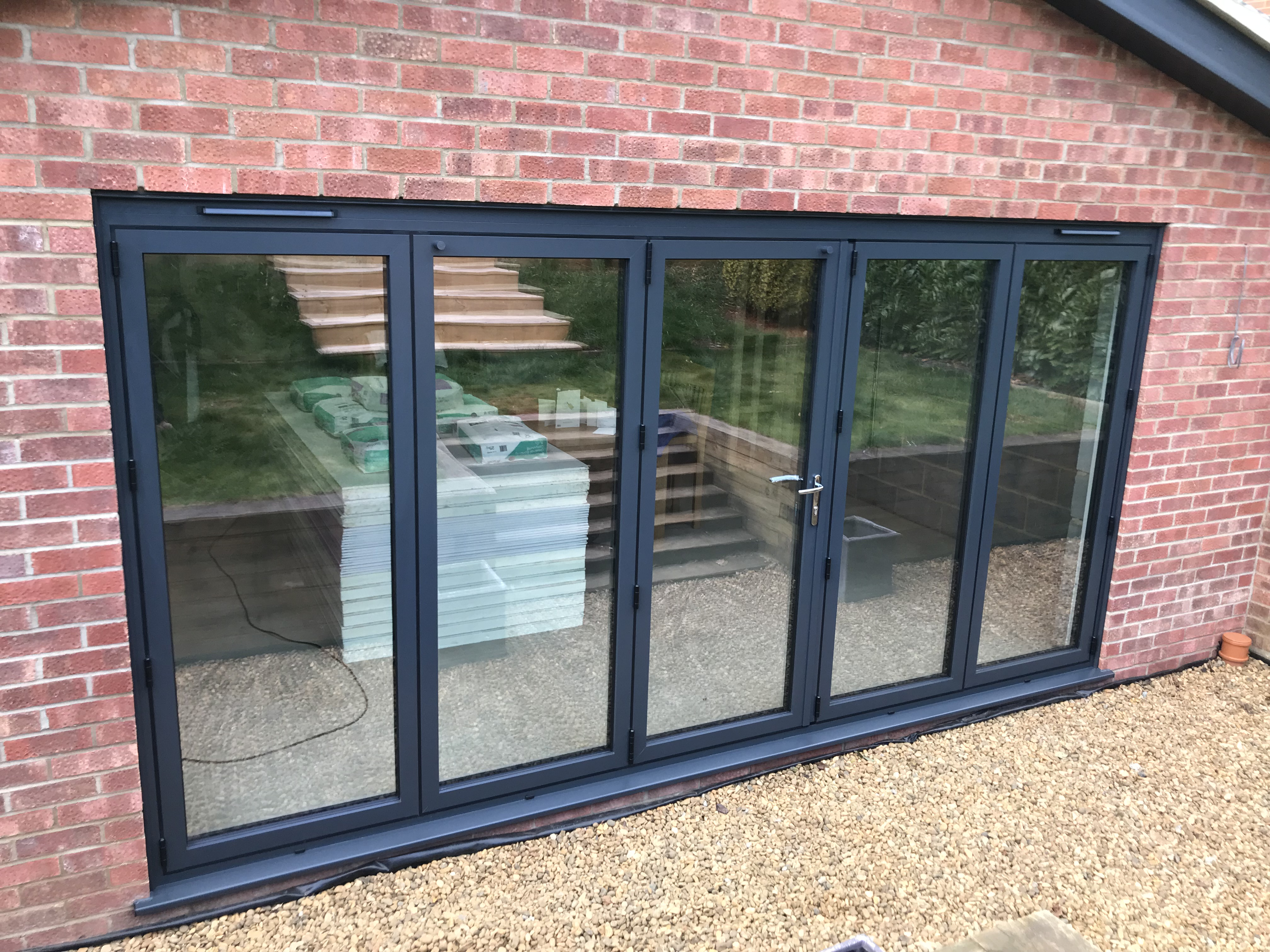 An example of our bi fold doors