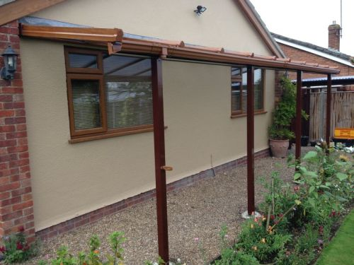 An example of our Verandas