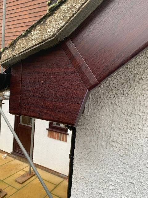 An example of our UPVC roofline